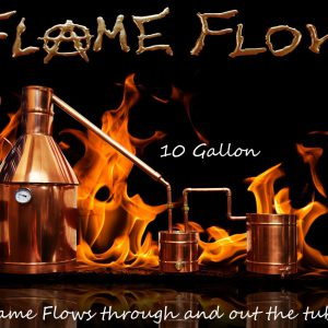 TDN - Flame Flow™ 10 Gallon Copper Moonshine Liquor Distillation Unit