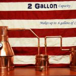 TDN - 2 Gallon Copper Moonshine Still - Complete + Upgraded Thumper and Worm