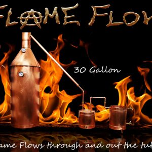 TDN - Flame Flow™ 30 Gallon Copper Moonshine Liquor Distillation Unit w/ Lifetime Warranty