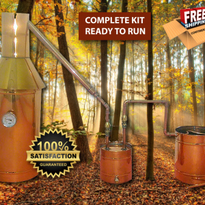 TDN - 6 Gallon Copper Moonshine/Liquor Still - Complete