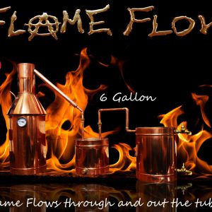 TDN - Flame Flow™ 6 Gallon Copper Moonshine Liquor Distillation Unit