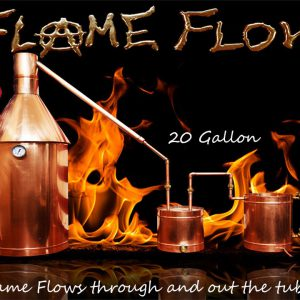 TDN - Flame Flow™ 20 Gallon Copper Moonshine Liquor Distillation Unit